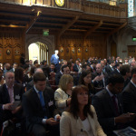 Crowd and Speakers at ALFI Event